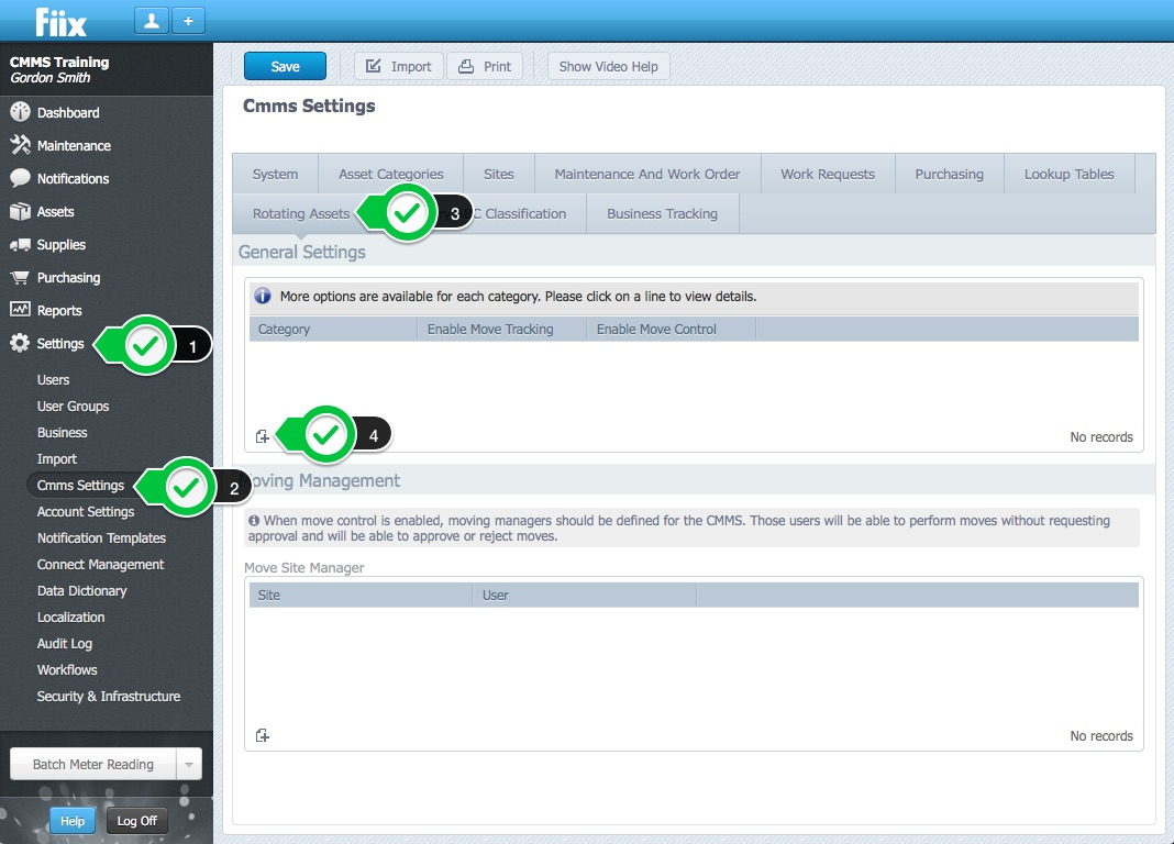 Use Rotating Assets Functionality To Manage Your Tool Crib Help Centre
